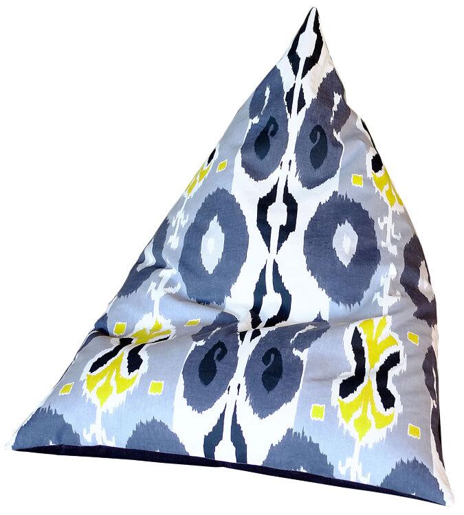 """Пирамида L """"Икат. ЧБ+лайм"""""""