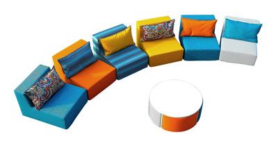 Модульный диван Bricks от Smart Balls