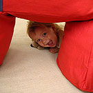 пуф для детей в виде Тетриса