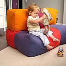 кресло-мешок для детей в виде Тетриса
