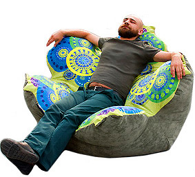 самое вальяжное кресло-мешок